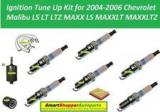 Ignition Tune Up Kit 2004-2006 Chevrolet Malibu V6 Wire Set, Spark Plug, Filter