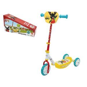 Monopattino bimbi personaggio Bing con 3 ruote, età 3+