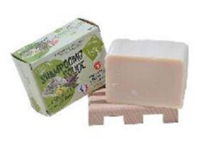 Shampoing solide à l'huile d'olive et poudre de shikakai  140 GR  BIO