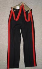 """Vintage Military Navy/Red Dress Trousers & Braces 'By M & N Horne Ltd 1954' -31"""""""