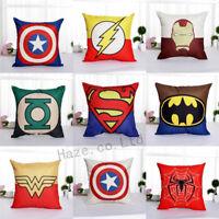 Decorative Throw Pillow Case America Marvel Superhero Comic Cushion Cover CCC