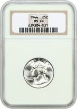 1944 25c NGC MS66 - Washington Quarter