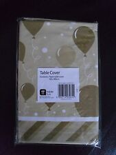 New ~ Gold ~ Paper Table Cover