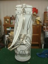 VINTAGE early PING staff golf staff bag - with Pingman logo - MUST SEE