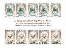 Monaco bloc feuillet N° 9  neufs **