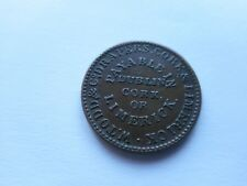1834 Ireland/Irish W.Todd & Co,Drapers unofficial Farthing.