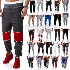 Hombre Informal Pantalones Estilo Árabe Holgado Pantalones De Chándal BAILE