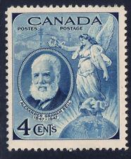 Canada #274(1) 1947 4 cent deep blue ALEXANDER GRAHAM BELL MNH