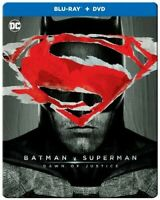 Batman v Superman: Dawn Of Justice UE [New Blu-ray] With DVD, Steelboo