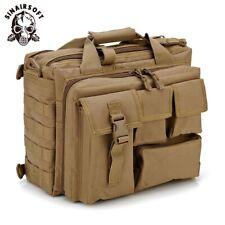 Tactical Men Messenger Shoulder Satchel Laptop Crossbody Bag Hand Tote Briefcase