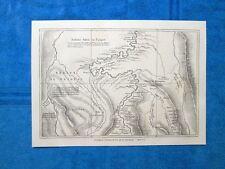 Gravure Année 1864 - Traversée de l'Amerique du Sud par Marcoy - Traversata