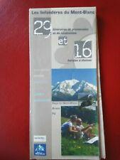 Les Belvédères du Mont Blanc 2007- itinéraires promenades et randonnées balades