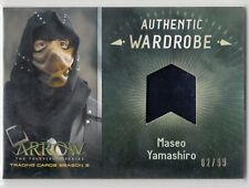 Cryptozoic Arrow Season 3 Wardrobe #M05 Maseo Yamashiro 82/99