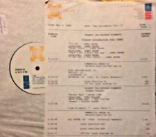 RADIO SHOW: B'DAYS 5/4/88 SETS w/JAMES BROWN & BOBBY DARIN; JUDY COLLINS, SPIRIT