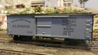 """Roundhouse MDC HO Old Time 36' Boxcar, NYC&HRRR """"Grain Line"""", Upgraded, Exc"""