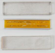 Trace lettres / normographe Rotring—4 mm—Boîte d'origine—Bords amovibles—'60