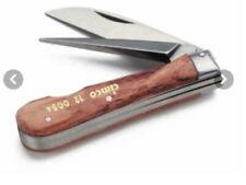 Cimco Kabelmesser mit Aufreiber Holz 2-tlg. 12 0054