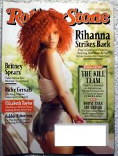 ROLLING STONE  MAGAZINE APRIL 14 2011 ISSUE #1128 RHIANNA-SHE STRIKES BACK