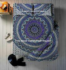 4 PCs Set Star Mandala Duvet Cover Handmade Queen Indian Quilt With Bedspread