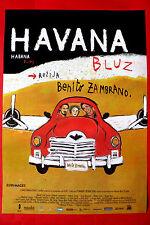 HABANA BLUES 2005 BENITO ZEMBRANO ALBERTO YOEL UNIQUE SERBIAN EXYU MOVIE POSTER