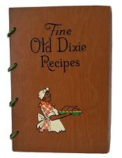 """New listing Black American Cook Book, """"Fine Old Dixie Recipes"""" 1939"""