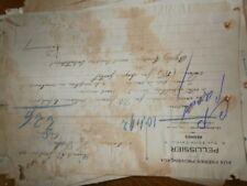 ancienne facture aux freres provençaux pellissier rennes 1927