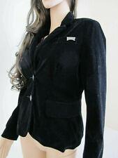"""""""Iron Fist"""" New Lady's Fashion Black Velvet Blazer Lined Jacket UK8/36 RRP£85!"""
