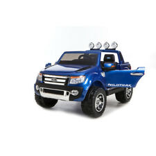 FORD RANGER WILDTRAK RIDE IN CAR PAINTED BLUE BLACK LEATHER SEAT