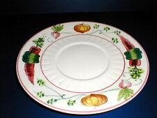 Lefton  Japan Vegetable Design COUNTRY SQUIRE #1595 Chip n Dip Plate/Platter (1H