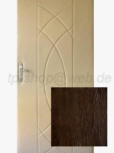 Türpolster Schallschutz Wärmedämmung Türverkleidung dunkelbraun 100x190cm