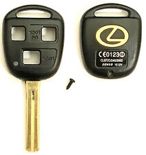 Lexus 3 Button Remote Head Key Shell TOY48 (Short) Usa Stock TOP QUALITY