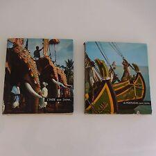 Le Portugal que j'aime 1966 L'Inde que j'aime 1968 Editions SUN PARIS