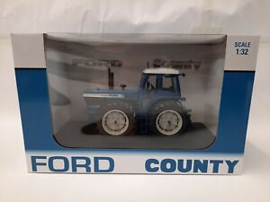 UH6302  Ford TW-30 County 1884 Prototype 40th Anniversary 1.32 Diecast Model