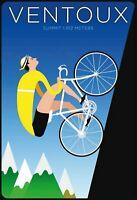 Vontoux Summit Fahrrad Rennrad Blechschild Schild Tin Sign 20 x 30 cm FA1774