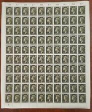 Luxembourg 250 - Grand Duchess Charlotte - Sheet Of 100 - MNH