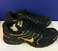 Nike Mens Air Max Torch 4 CN2159-002 Running Sneaker Black Gold Shoe Size US 9