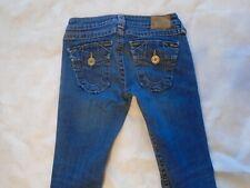 True religion women jean size 26 becky big T boot cut .