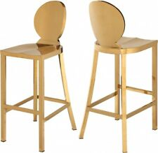 Unique Modern Gold Stainless Steel Bar Stool