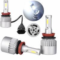 Waterproof H8 H9 H11 LED Headlight Bulbs Conversion Kit 6000K High Power Lamp SS