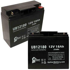 2-pack APC RBC7 1000 Battery UB12180 12V 18Ah Sealed Lead Acid SLA AGM