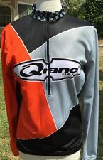 M1~ Women Cycling Shirt Jersey Orange,Black Size M Medium Cool Wick