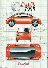 Detail cars catalogue de 1995 catalogo en 16 pages