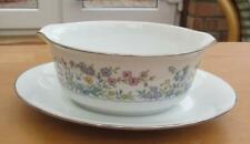More details for noritake spring garden gravy boat attached stand  £10.99 (post free uk)