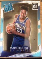 2017-18 Donruss Optic Rated Rookie Markelle Fultz #200 Basketball Card