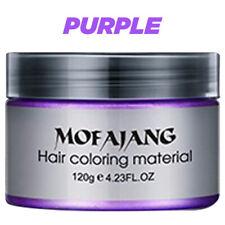 Unisex DIY Temporary Hair Color Wax Paste Dye Cream in 9 Colors - Mofajang
