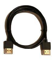 1m HQ HDMI Cable Lead Super Slim Thin 1080p Small Head flexible