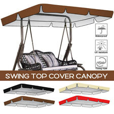 2/3 Seats Swing Top Cover Canopy Replacement Porch Patio Outdoor