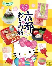 ❤  Re-Ment Sanrio Hello Kitty Girl's Trip to Kyoto Set of 8 ❤ RARE SET
