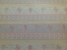 2 Sheets Gift Wrap Paper Happy Birthday Dainty Floral Flowers Girls Female Lady