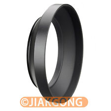 72mm metal wide angle screw in mount lens hood for Canon Nikon